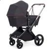Детская дизайнерская коляска 2 в 1 Shom Roberto Verino Elegance Midnight Black