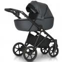 Детская коляска 3 в 1 Verdi Makan 02 Grey