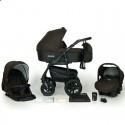 Детская коляска 3 в 1 Verdi Sonic Plus 08 коричневая с черным