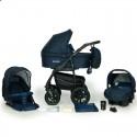 Дитяча коляска 3 в 1 Verdi Sonic Plus 10 темно синя