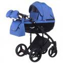 Детская коляска 2 в 1 Adamex Chantal С203 синяя