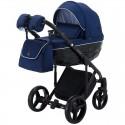 Детская коляска 2 в 1 Adamex Chantal С204CZ синяя