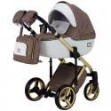 Детская коляска 2 в 1 Adamex Luciano Polar Gold Y-801