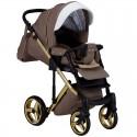 Дитяча коляска 2 в 1 Adamex Luciano Polar Gold Y-801