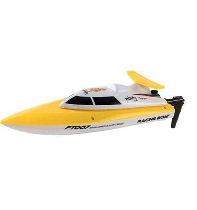 Катер на р/у 2.4GHz Fei Lun FT007 Racing Boat желтый