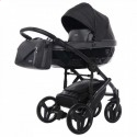 Детская коляска 2 в 1 Junama Saphire Eco 02 Black