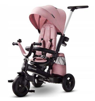 Велосипед трехколесный Kinderkraft EasyTwist pink