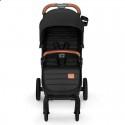 Детская прогулочная коляска Kinderkraft Grande LX Black