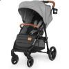 Детская прогулочная коляска Kinderkraft Grande LX Grey