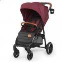 Детская прогулочная коляска Kinderkraft Grande LX Burgundi