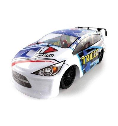 Машинка шосейна 1:18 Himoto Tricer E18OR Brushed білий