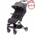 Детская прогулочная коляска 4Baby Twizzy Dark Grey
