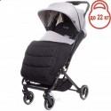 Детская прогулочная коляска 4Baby Twizzy Light Grey