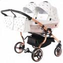 Универсальная коляска для двойни Junama Glow Duo 02
