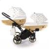 Универсальная коляска для двойни Junama Glow Duo Slim 01
