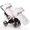 Универсальная коляска для двойни Junama Glow Duo Slim 02