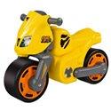 Мотоцикл каталка Big 56329 желтый