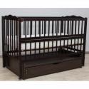 Детская кроватка Дубик-М Веселка венге