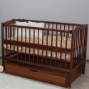 Детская кроватка Дубик-М Веселка орех