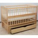 Детская кроватка Дубик-М Веселка натуральный