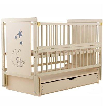 Детская кроватка Дубик-М Мишка слоновая кость