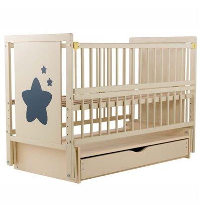 Детская кроватка Дубик-М Звездочка слоновая кость