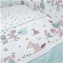Детский постельный комплект Twins Sweet 8 эл. Forest Mint