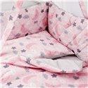 Дитячий постільний комплект Twins Premium Glamour 8 ел. TGN-08 Night Pink