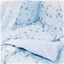 Детский постельный комплект Twins Romantic Spring 8 эл. TR-04 Butterfly Blue