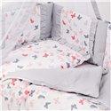 Детский постельный комплект Twins Romantic Spring 8 эл. TR-101 Butterfly Coral