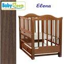 Детская кроватка Baby Sleep Elena BKP-S-B с ящиком Орех
