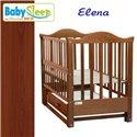 Детская кроватка Baby Sleep Elena BKP-S-B с ящиком Махагон