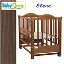 Дитяче ліжко Baby Sleep Elena BKP-S-0 без шухляди Горіх