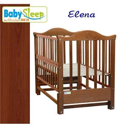 Детская кроватка Baby Sleep Elena BKP-S-0 Махагон