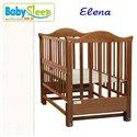 Детская кроватка Baby Sleep Elena BKP-S-0 Белый