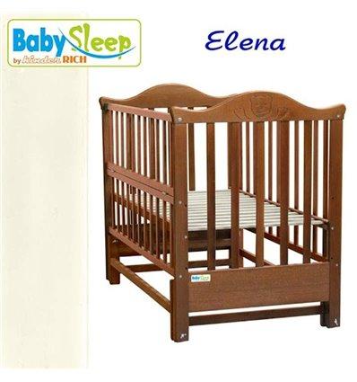 Детская кроватка Baby Sleep Elena BKP-S-0 Слоновая кость