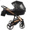 Детская коляска 2 в 1 Junama Termo Glitter 01 Jet Black