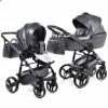 Детская коляска 2 в 1 Junama Termo Glitter 02 Carbon Grey