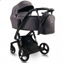 Детская коляска 2 в 1 ibebe i-stop IS20 Gloss бордовая