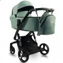 Детская коляска 2 в 1 ibebe i-stop IS21 Gloss зеленая