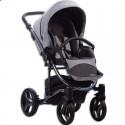Детская коляска 2 в 1 Bebetto Tito Premium Dark 02 серая