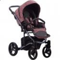 Детская коляска 2 в 1 Bebetto Tito Premium Dark 03 красная