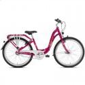 Велосипед двухколесный Puky SKYRIDE 24-3 Light ягодный 4816