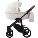 Детская коляска 2 в 1 Bebetto Luca Pro 01 экрю