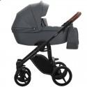 Детская коляска 2 в 1 Bebetto Luca Pro 03 графитовая