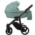 Детская коляска 2 в 1 Bebetto Luca Pro 07 зеленая