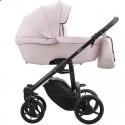 Детская коляска 2 в 1 Bebetto Luca Pro 10 розовая пудра