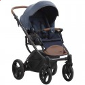 Детская коляска 2 в 1 Bebetto Luca Pro 11 синяя