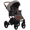 Детская коляска 2 в 1 Bebetto Luca 11 бежевая, черная рама