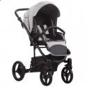 Детская коляска 2 в 1 Bebetto Torino 05 серая, черная рама